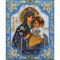 antique embroidery pattern - Diy Diamond Painting home decor crystal craft gift Virgin Mary Jesus D cross stitch pattern diamond art X31CM HWF