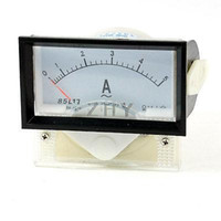 Cheap Wholesale-85L17 AC 0-5A 70mm x 40mm Analog Ampere Panel Meter Amperemeter
