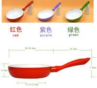 Wholesale 18cm Ceramic Pan Nonstick Frying Pan Ceramic Fry Egg Pan