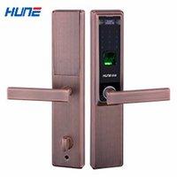 digital door lock - HUNE fingerprint password door lock security door digital door lock brand F