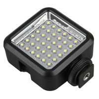 Wholesale Hot Black W36 W lm K LED Video Camera Light Lamp For Canon