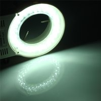 Wholesale New Arrival Hot Sale LED Adjustable Ring LED Round Light For Illuminator Lamp For STEREO Microscope Excellent Circle Light