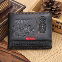 american standard suppliers - Joining together with loose personality wallet supplier Male tide cool individuality student imitation leather wallet The spot