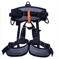 climbing harness - NEW Brand Professional aerial work Outdoor climbing safety belts harness rock climbing belt waist protect belt safety equipment