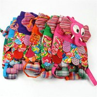 Wholesale 2016 design Colorful Ethnic Style Owl Children Package Kids Girls Fashion School Bags Chinese Characteristic A0237