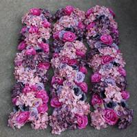 arc decorations - wedding flowers wedding road arc wedding table decorations lead wedding flower row silk flowers Simulation