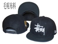 Wholesale Cheap Stussy Baseball Caps Flat Brim Fashion Hats Snapback Hats Adjustable Cap Hiphop