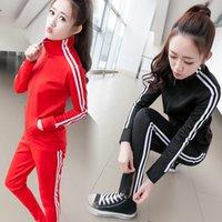 Wholesale Sudaderas Mujer Spring Autumn Women Sport Suit Set Jogging Suits Patchwork Plus Size Tracksuit Track Suit Tops Pants