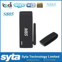 Wholesale SYTA Android TV Stick Amlogic S805 Quad Core TV BOX Live Streaming G G M85 TV Stick