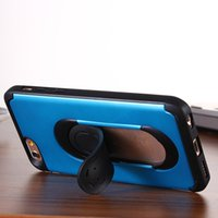 Wholesale Classical mobile phone case for iphone s stand for iPhone case shockproof kickstand