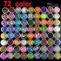 Wholesale New hot selling Nail art Pots Kinds of Glitter Decoration Powder Crush Shell Bead