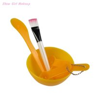 Wholesale DIY Facial Face Mask Set Bowl Brush spoon Stick Tool Skin Care Kit Homemade Makeup Beauty in1