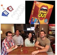 Wholesale Speak Out Games Ridiculous Mouthpiece Challenge Game game for your mouthpiece with paper cards