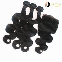 Human Hair Body Wave 10-200 8A Cuticle Mongolian Hair Weave 10-28inch Buy 3 Get 1 Free Lace Closure Vietnamese Burmese Cambodian Body Wave Human Hair Extensions