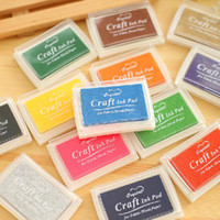 Wholesale Rubber Stamps Ink Pad Vivid Multi Colours Set Craft Cardmaking Scrapbooking Brand New