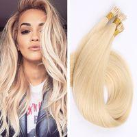 auburn hair salon - Human I Tip Hair Extensions Brazilian Straight Keratin g strands A Human Hair I Tip Hair Extensions Brown All color for Salon