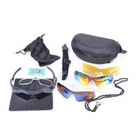 baseball sunglasses for men - Waterproof Shockproof Polarized Sports Sunglasses Sun Glasses with Interchangeable Lenses for Men Women Cycling Baseball Outdoor