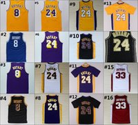 basketball bryant - Kobe Bryant Jersey Throwback High School Lower Merion Kobe Bryant Retro Shirt Uniform Yellow Purple White Black Blue Red