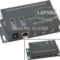 av repeater - BD1203 Emitter Receiver adapter IR Infrared Remote TV AV Video Home Application Extender Hidden IR Repeater System Kit