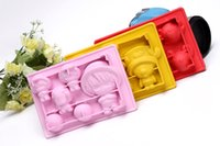 Wholesale Pirates king ice box of silicone ice mold cartoon ice mold cute and interesting
