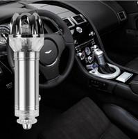 auto interiors - Auto Air Purifier Oxygen Bar Lonizer Car Interior Decoration Car Air Freshener Remove Smoke and Clean Air Car Anion Air Purifier