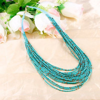 Wholesale Boho Fashion Body Alloy Vintage Personalized Choker Colourful Necklaces Women Jewelry Color for Choose