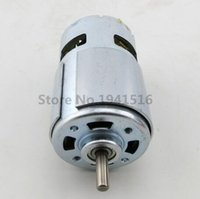 Wholesale 12V Electric machinery motor High speed Large torque DC motor Electric tool Electric machinery