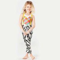 american girl braces - Children Set Kids Suit Outfits Girl Dress Summer Tank Tops Kid Braces Suspenders Girls Outfits Child Clothes Kids Clothing Ciao C25666