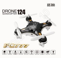 big plastic pockets - FQ777 Pocket Drone CH Axis Gyro Professional Mini RC Quadcopter Switchable Controller RTF Headless Helicopter HHA868