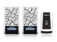 Wholesale Forecum F Smart Wireless Doorbell Waterproof with Two Receivers DC Door Bell Chimes m Range for Home Office