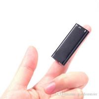 Wholesale Super Thin GB MINI MP3player In Dictaphone USB Digital Audio Voice Recorder USB Voice Recorder