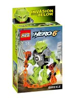 Wholesale Hero Factory Series th generation robot hero factory assembled building blocks assembled educational toys for children