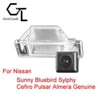 auto nissan sunny - For Nissan Sunny Bluebird Sylphy Cefiro Pulsar Almera Genuine Wireless Car Auto Reverse CCD HD Rear View Camera Parking Assistance