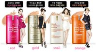 Wholesale 1PCS New Hot Red and Gold Barrels Whitening BB cream g sunscreen SPF25 PA korean face foundation makeup
