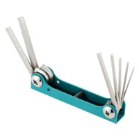 Wholesale Pro sKit PK N Wrench Set Folding Hex Key Set mm Torque Wrench Practical Repair Tool
