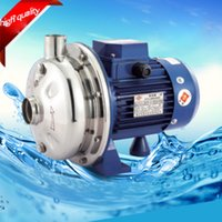 Wholesale NEWLY Stainless Steel Centrifugal Pump HP VAC