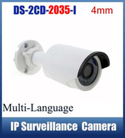 Wholesale Hikvision DS CD I MM IP Camera True Day Night Low Illumination MP H HD Video Output IR Bullet Network Camera
