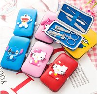 Wholesale Cartoon portable nail clippers suit Nails QianXiu armor suits Manicure cut nail tools