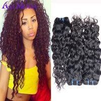 alo natural - Malaysian Water Wave Virgin Alo Moda Hair Malaysian Ocean Wave Hair Wet and Wavy Human Hair Bundles Grace Rosa Hair Products B