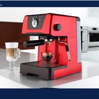 Wholesale by Hosalei A C212 semi automatic high pressure steam espresso coffee machine for home with professional pump