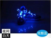 Wholesale Sport Luminous Shoelace Glow Fluorescent Sneaker Flat Shoe Laces Strings Athletic Shoes Flat Shoe Lace Nylon Multicolor