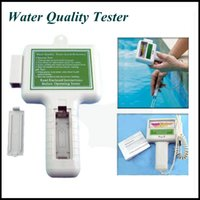 Wholesale New Arrival PH value spa chlorine water quality tester PC101 swimming pool water tester sauna chlorine water quality detectors instruments