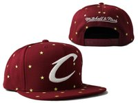 Wholesale Hot Sale michell ness CLEVELAND basketball team snapback hats sports caps for men women ball caps