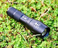 Wholesale Popular selling CREE XM L T6 Lumens Torch tactical flashlight ultrafire for xAAA or x18650 battery by AVWOO