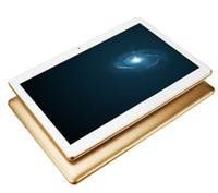 PC de table de 10 pouces moins cher IPS 1280 * 800 3G Double carte SIM de téléphone Appel Android 5.1 Original OEM 4G 64GB en plastique Shell