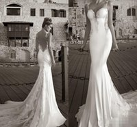 best beach wedding dresses - 2016 Sexy Best Selling Wedding Dresses Summer White Lace Bare Backless Beach Bridal Gowns Mermaid Sheer Straps Tier Bridal Dresses