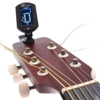 Wholesale Top Quality ENO ET Guitar Tuner Mini Auto Chromatic Bass Violin Ukulele Tuner Clip Super Anti interference Price