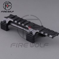 ar tactical scope - Tactical Aluminum Claw Low Profile Airsoft mm Picatinny Rail Scope Mount for AR MP5 MP5K G3