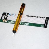 Wholesale Aluminum Solder Solder Sucker Desoldering Pump Tool Removal Vacuum Soldering Iron Desolder Newest