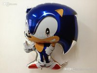 aluminium cost - Jumbo Sonic the Hedgehog Mylar Foil Balloon Party Decoration Gifts with cost